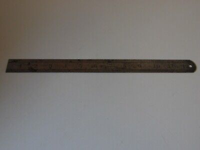 Lufkin No. 2701 12 Inch Steel Rule