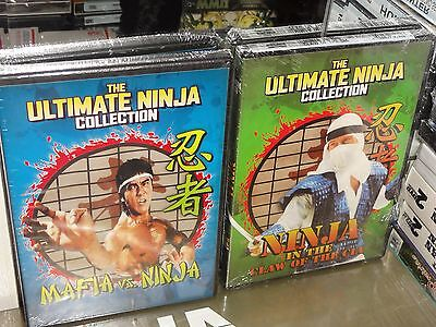 Mafia Vs Ninja / Ninja In The Claw Of The Cia (2-DVDS) Alexander Lo Rei, NEW!