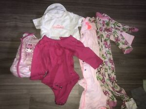 Large Beautiful Baby Girl Lot 0-12mth