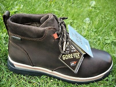 Clarks PLUS* RipwayHill Gtx Brown Leather Boot Men WIDE-FIT UK-10.5 H   EU-45 W Plus Gtx Boot