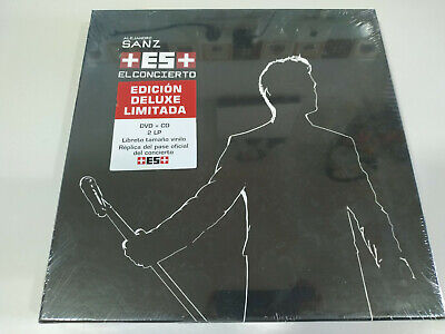 ALEJANDRO SANZ+ es + Deluxe Box El Concierto CD + 2 x...