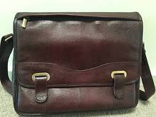"Genuine Leather-Messenger Bag Office Handbag Briefcase 14"" Laptop Adelaide CBD Adelaide City Preview"