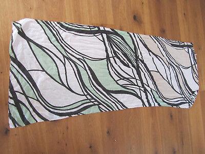 Schal Kenny S  70 x 180 braun grün schwarz weiss  in top  Zustand - 70 S Schal