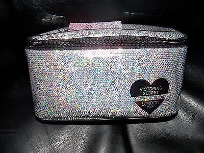 Victoria's Secret Fashion Show London 2014 makeup Case Cosmetic bag Large NEW
