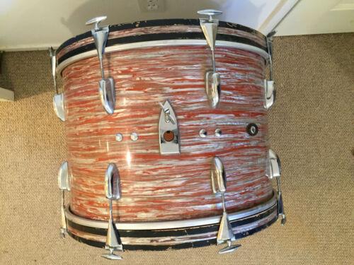 Slingerland 20 bass drum pink oyster pearl vtg