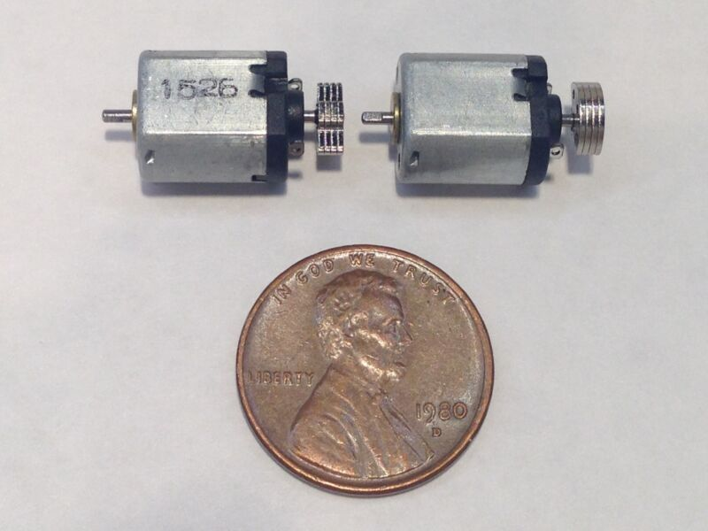 1.5-3V DC Motor Micro Vibration Motor 14000RP Mini Massage Motor 2 Pcs