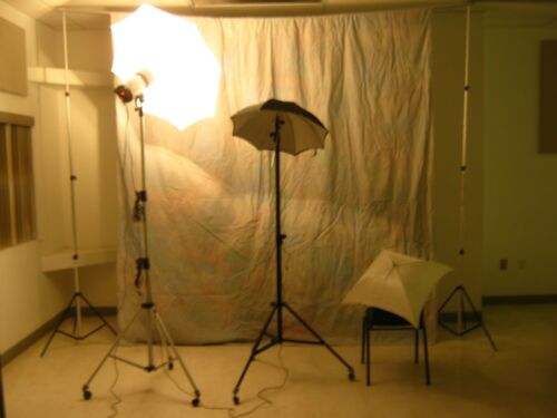 Photo, Flash System--Bogen, Swiss, Portable Flash- Complete System, Background,