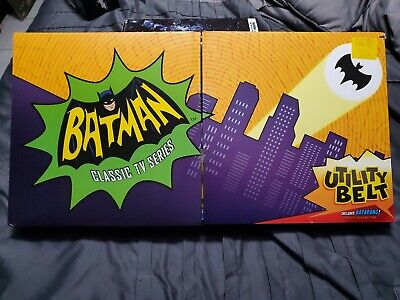Mattel Batman Classic TV Series Utility Belt and Batarang NEW bat man halloween