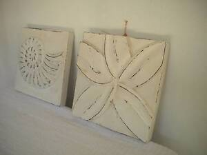 Shell and Flower wall plaques Mudgeeraba Gold Coast South Preview
