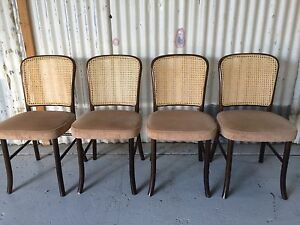 4 bentwood dining chairs Kewdale Belmont Area Preview