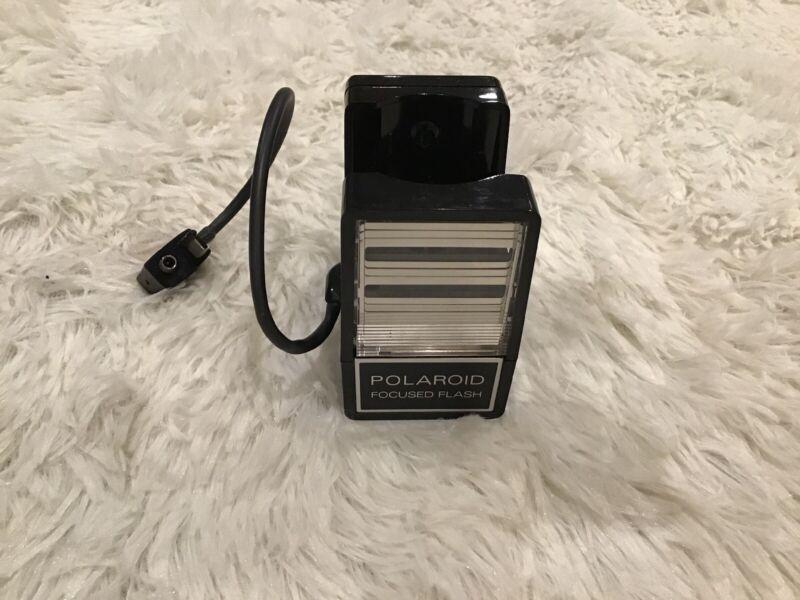 Vintage Polaroid Focused Flash Model 490