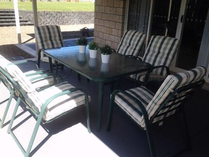 Outdoor furniture   setting Pacific Pines Gold Coast City Preview
