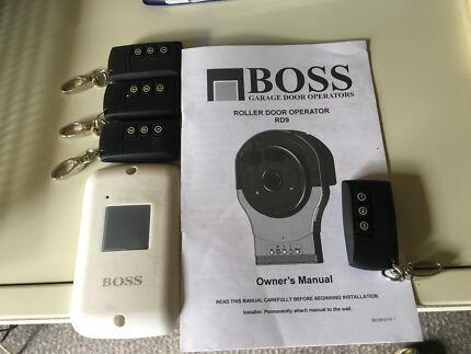 BOSS ROLLER DOOR REMOTES / BOSS RD 9 AS NEW...25 each