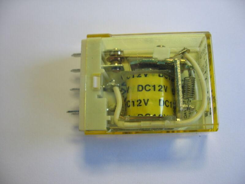 Idec RH1V2-U-DC12 SPDT General Purpose Relay Plug-In or PCB Mount 12 VDC  10 amp