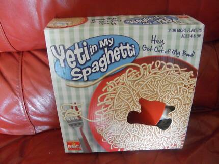 yeti in my spagetti game