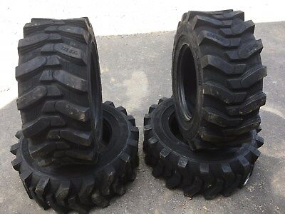 4 New Camso Sks532 12-16.5 Skid Steer Tires For Bobcat - 12x16.5 -12 Ply