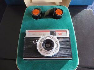 Alte Kamera: Agfa Rapid Domonstation