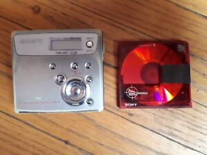 Sony MD Walkman MZ-N505 Mini Disc USED