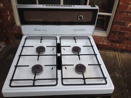 upright gas stove