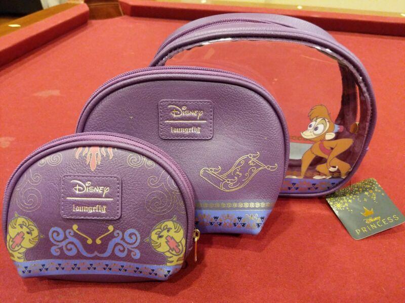 Loungefly Disney Aladdin 3-Piece Cosmetic Bag Set