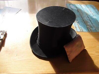 schwarzer Zylinder aus dem 19. Jahrhundert original