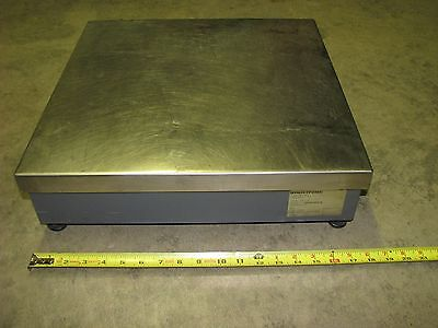 Weigh-tronix Bench Top Platform Scale 3635-110 That Is Approx 18 X 18