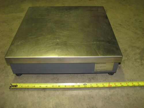 WEIGH-TRONIX 3635-110 bench top platform weight scale approx size 18 in square