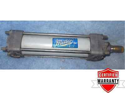 Miller Fluid Power Pneumatic Cylinder 1-12 Bore 4 Stroke 1 Year Warranty
