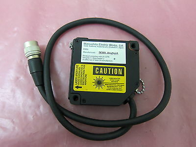 AMAT 1400-01273 Matsushita Electric Works NAIS Micro Laser Sensor LM10 401682