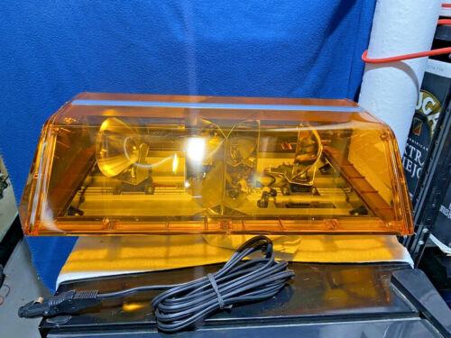 New - Code 3 PSE - XL5100 Lightbar - XL5000 - Force 4 - Mini Bar - Amber - NOS