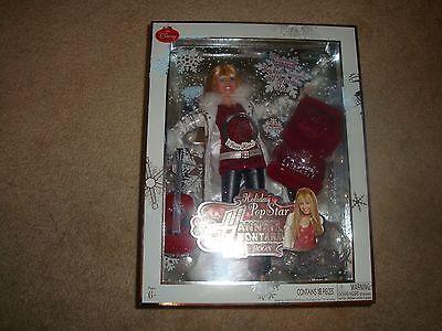 Hannah Montana,Doll,Holiday Pop Star,sings,Rockin Around the Christmas Tree