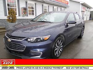 2018 Chevrolet Malibu  LT/AS LOW AS $78.00 A WEEK