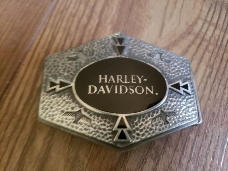 Vintage Harley Davidson Belt Buckle. Used 1993