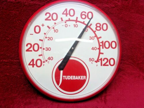 """Chaney Instruments Studebaker  12 1/2"""" Wall Thermometer"""