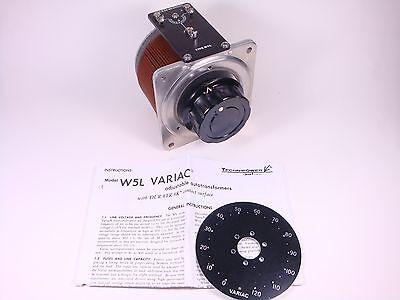 3050-5110 Technipower Llc Variac Variable Autotransformer W5l 120v 60hz 8.5a Nos