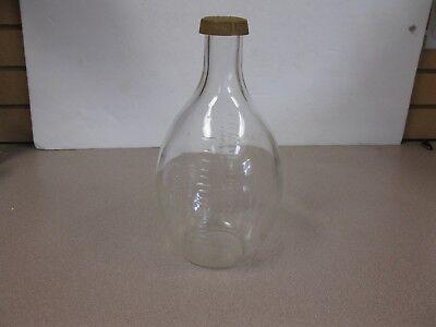 Vintage Macbick 2000 Ml Glass Bottle Science Beaker 11 Antique Corning Usa