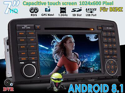 """Für Mercedes Benz R Klasse W251 R300 GPS Navi Autoradio Android 8.1 7"""" MP3 DVD"""