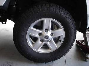 Toyota Land Cruiser Wheels & tyres Warragul Baw Baw Area Preview