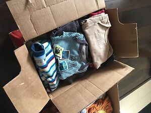 Approx 150 baby boys items 0-12 months