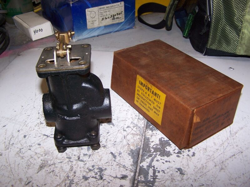 """NEW MCDONNELL MILLER SA51-101-102 VALVE AND STRAINER ASSEMBLY 1/2"""" NPT"""