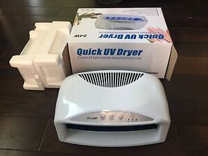 Unused Brand New UV Nail Dryer Two hand
