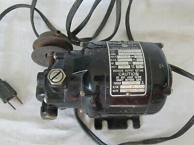 Genuine Bodine Electric Speed Reducing Motor Nse-11r Serial 4603238