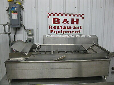 Belshaw Mark 6 Mk Vi Automatic Cake Donut Robot Fryer Machine