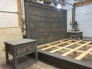 Custom Made Platform and Rail Beds