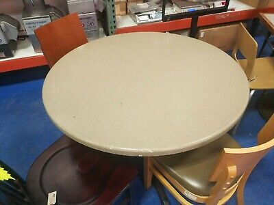 Used 41.5 Round Restaurant Table