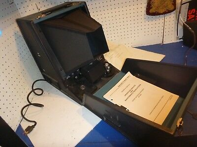 Vintage Microfilm Ar-163a Reader Navair Connecticut Engineering Micro Film