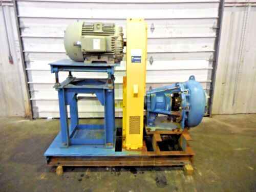 "RX-3615, METSO MM200 LHC-D 8"" x 6"" SLURRY PUMP W/ 75HP MOTOR AND FRAME"