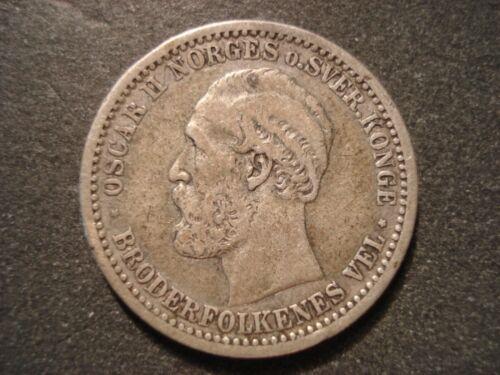 1904 Norway 50 Ore
