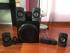 Logitech Z906 5.1 Speakers Marrickville Marrickville Area Preview
