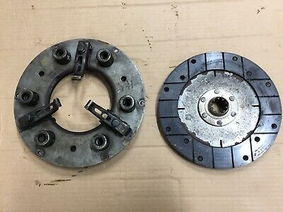 Farmall Ih Tractor H Hv Sh Clutch And Pressure Plate Assembly